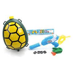 Водяной бластер с рюкзаком Наша игрушка «Черепашка»