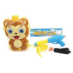 Водяной бластер с рюкзаком Наша игрушка «Мишка»