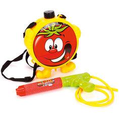 Водяной бластер с рюкзаком Наша игрушка, 29 см