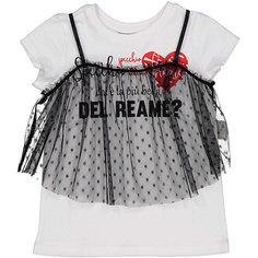 Комплект: футболка с коротким рукавом и топ Trybeyond для девочки