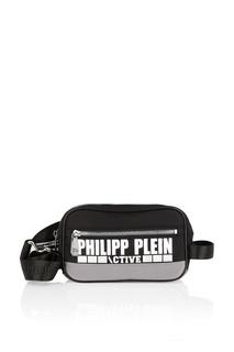 Сумка на пояс с логотипом Philipp Plein