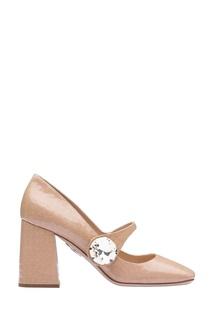 cb9a6ca7d Купить женская обувь Miu Miu в интернет-магазине Lookbuck | Страница 2
