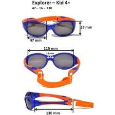 Cолнцезащитные очки Real Kids детские Explorer розовый/бирюза 4-7 лет (4EXPAQPK)