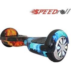 Гироскутер SpeedRoll Premium Smart LED NEW Красно-синий огонь