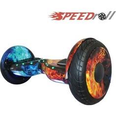 Гироскутер SpeedRoll Premium Roadster Красно-синий огонь