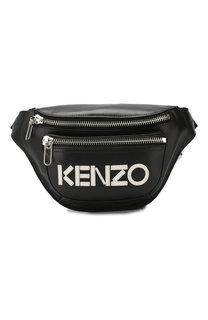 Кожаная поясная сумка Kenzo