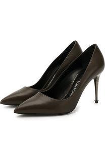 Кожаные туфли на шпильке Tom Ford
