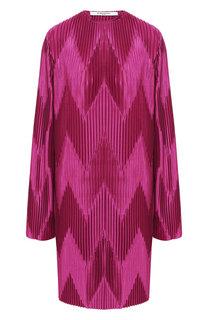 Плиссированное платье Givenchy