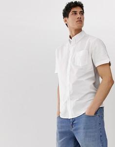 Оксфордская рубашка с короткими рукавами Ben Sherman - Белый