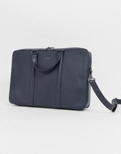Темно-синяя сумка почтальона Matt & Nat - Темно-синий
