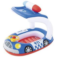 """Надувная лодочка Bestway """"Машинки"""", синяя"""