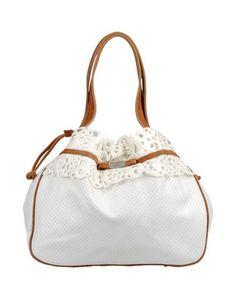 Большая сумка из текстиля Ermanno DI Ermanno Scervino
