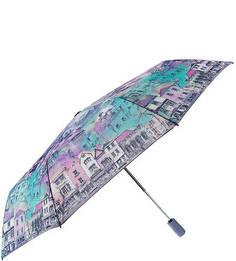 Складной автоматический зонт с куполом с водоотталкивающей пропиткой Eleganzza
