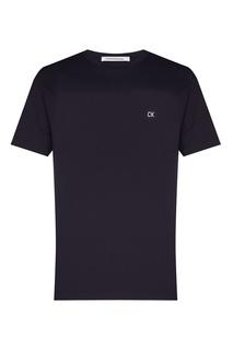 Темно-синяя футболка Calvin Klein