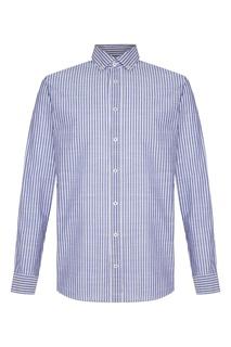 Рубашка в контрастную полоску Van Laack