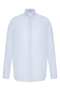 Рубашка в полоску с длинными рукавами Van Laack