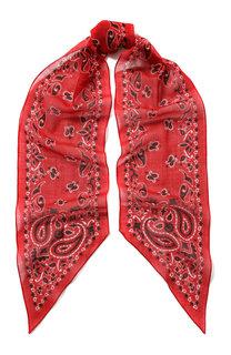 Шерстяной шарф-бандо Saint Laurent