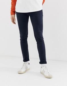 Темно-синие зауженные джинсы Jack & Jones - Темно-синий