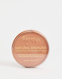 Пудра-бронзатор Rimmel Natural Sun glow - Коричневый