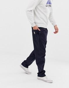 Темно-синие брюки Carhartt WIP Lawton - Темно-синий