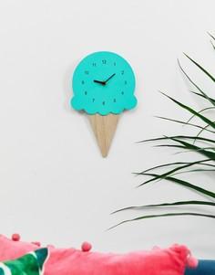 Часы в форме мороженого SVNX - Синий 7X