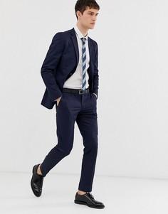 Темно-синие узкие брюки Esprit - Темно-синий