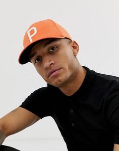 Оранжевая бейсболка Puma Golf 02144805 - Оранжевый