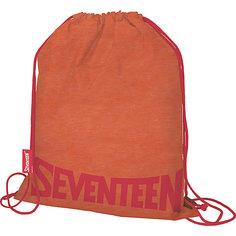 Мешок для обуви Seventeen, оранжевый