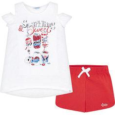 Комплект: Майка и шорты Mayoral для девочки