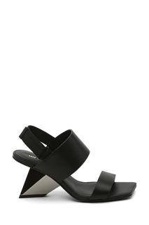 Черные кожаные босоножки Rockit Sandal United Nude