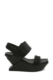 Кожаные босоножки Delta Wedge Sandal United Nude