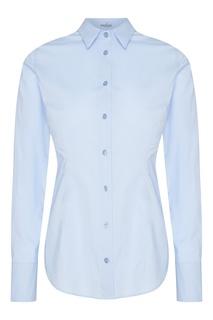 Голубая блузка Van Laack