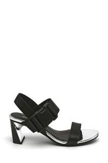 Черные комбинированные босоножки Molten Sandal Mid United Nude