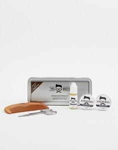 Подарочный набор средств по уходу за бородой в жестяной упаковке Mo Bros - Бесцветный