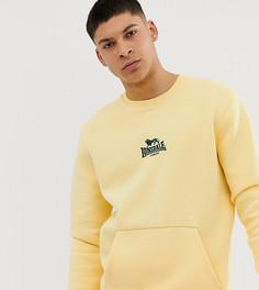 Желтый свитшот с круглым вырезом Lonsdale - Желтый