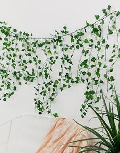 Каскадная гирлянда с листьями Typo - Мульти