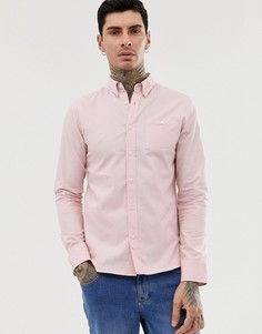 Оксфордская рубашка с длинными рукавами D-Struct - Розовый