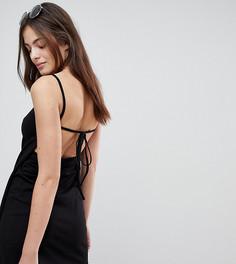 Пляжное платье с запахом Monki - Черный