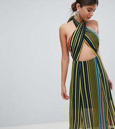 Платье миди в полоску Missguided - Мульти