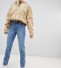 Синие джинсы в винтажном стиле из органического хлопка с завышенной талией Weekday - Синий