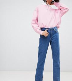 0423d631589 Узкие джинсы прямого кроя из органического хлопка с классической талией  Weekday - Синий