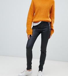 Зауженные джинсы с покрытием Esprit - Черный