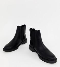 Ботинки челси на толстой плоской подошве New Look - Черный