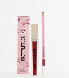 Набор косметики для губ PrettyLittleThing - Красный