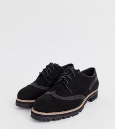 Черные броги на шнуровке New Look - Черный