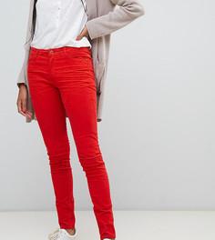 Красные вельветовые брюки скинни Esprit - Оранжевый
