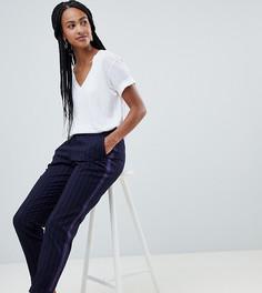 Темно-синие брюки в полоску Esprit - Темно-синий