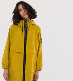 Легкая нейлоновая парка горчичного цвета Esprit - Желтый