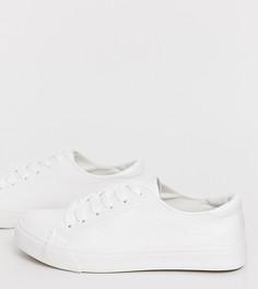 Классические белые кроссовки New Look - Белый