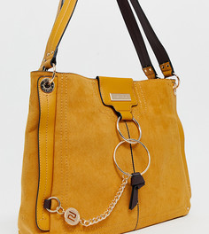 Желтая сумка с кольцами River Island - Желтый
